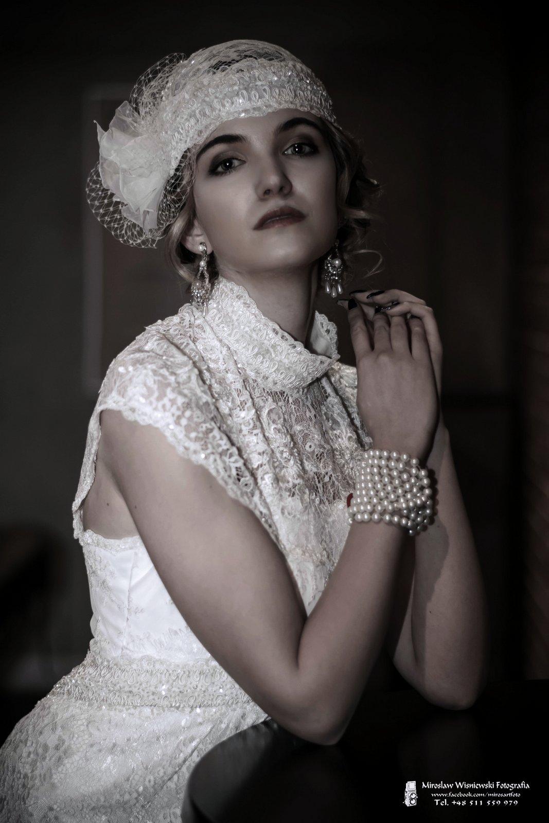 MIroslaw Wisniewski Fotografia , Sesja Art Deco - Klaudia Paulina