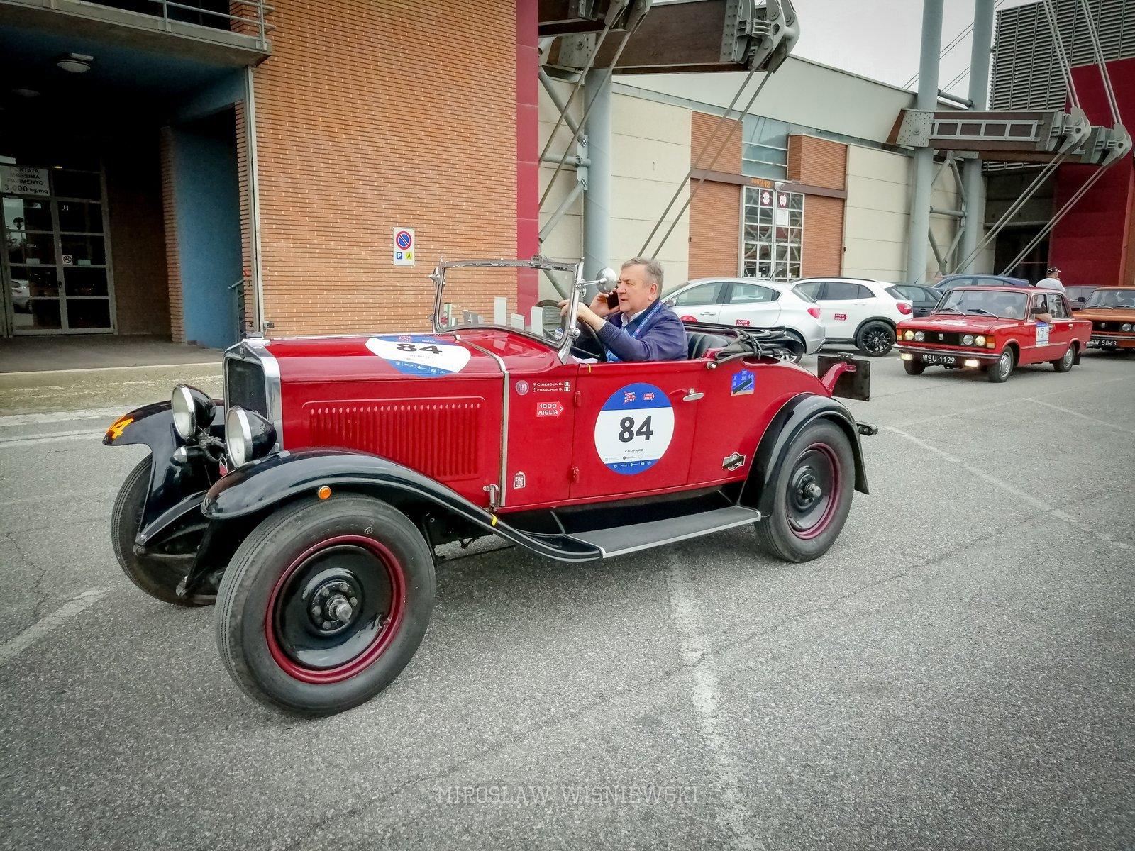 Miroslaw Wisniewski, Mille Miglia 2019