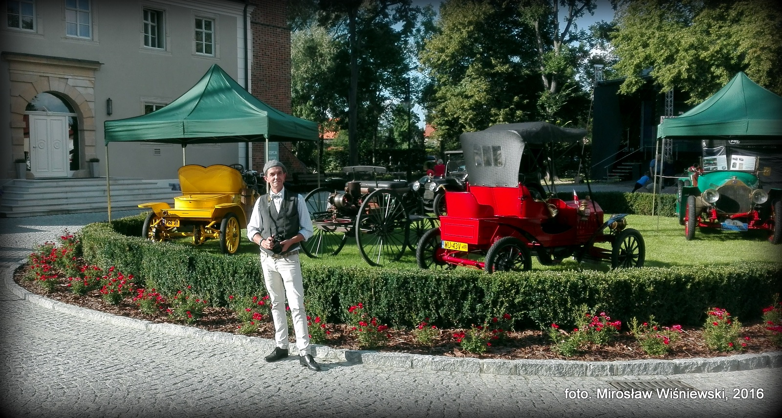 Mirosław Wiśniewski Fotografia. MotoClassic Wrocław 2016