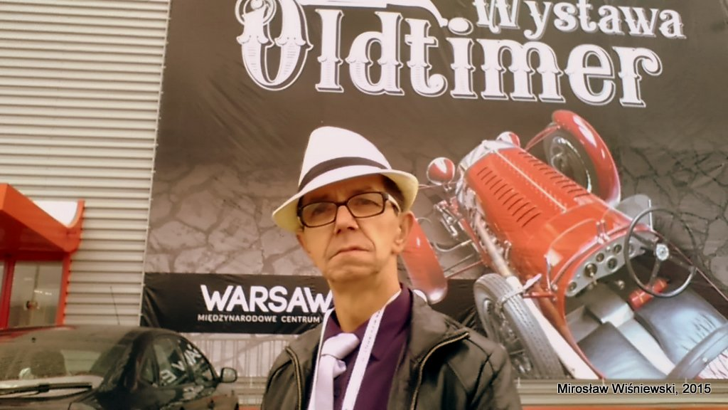 Mirosław Wiśniewski, Oldtimer Warsaw Moto Show 2015