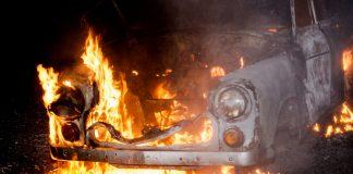 yrena w ogniu podczas Bikiniady