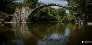 Park rodedendronów w Kromlau