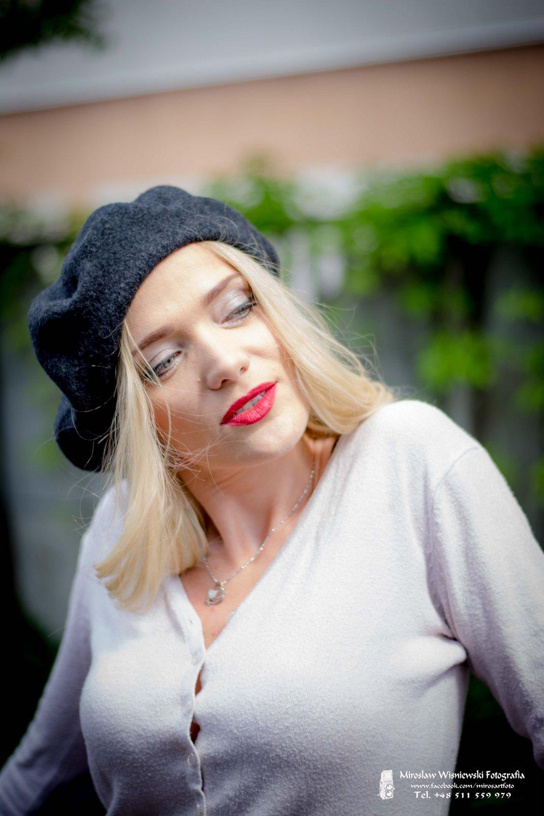 Modelka Mila sesja Mińsk Mazowiecki
